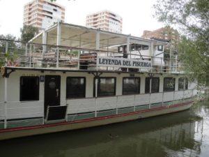 Barco La Leyenda del Pisuerga