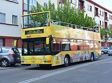 Bus turístico Valladolid en ruta