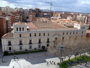 Palacio Real de Valladolid, vista aérea