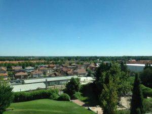 Vista aérea de La Vega