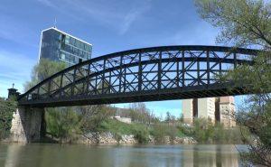 Puente de Hierro de Valladolid