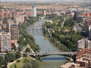 Río Pisuerga de Valladolid
