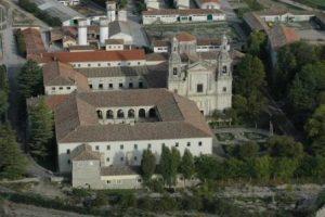 Vista aérea Monasterio Santa Espina