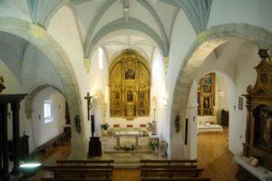 Interior de la Iglesia de Encinas de Esgueva