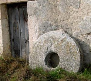 Piedra utilizada en molinos