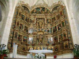 Retablo de la Iglesia de Olivares de Duero