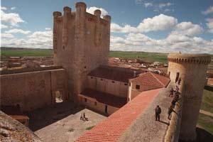 Vista aérea del Castillo de Torrelobatón