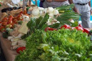 Mercado ecológico en Valladolid