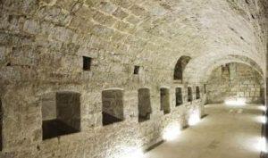 Interior del Castillo de Trigueros del Valle