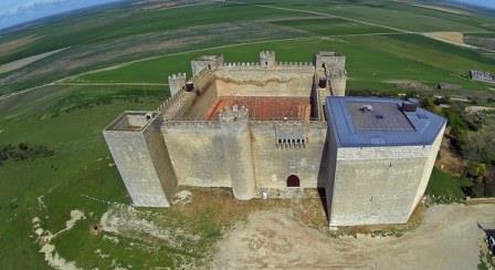 Vista aérea Castillo de Montealegre