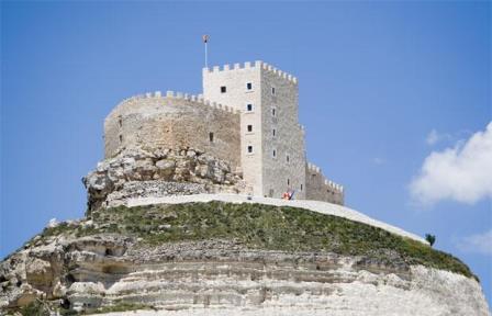 Vista del Castillo de Curiel