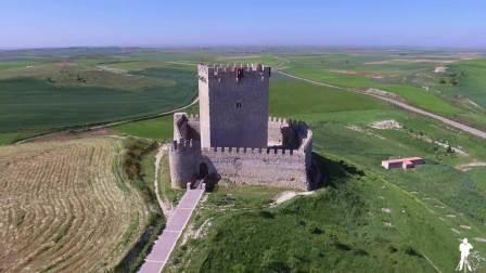 Vista aérea Castillo de Tiedra