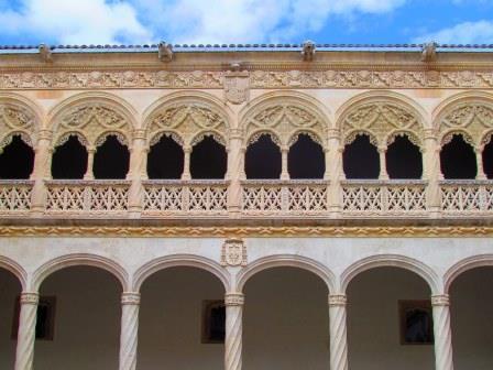 Patio renacentista en Valladolid